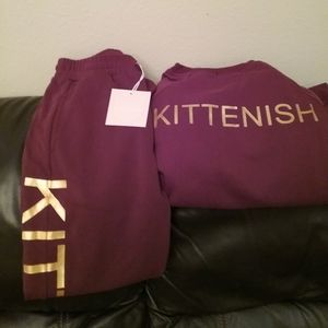 Brand new with tags Kittenish Logo Set